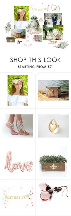 Best Day, wedding Day by vualia on Polyvore featuring Reception, Ultimate, flowercrown, weddingday, bridallook, weddingaccessories and weddingceremony