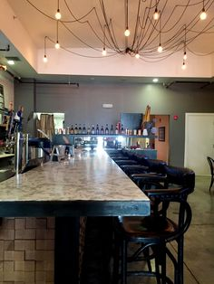 a new tampa juice company with old school flare interior design