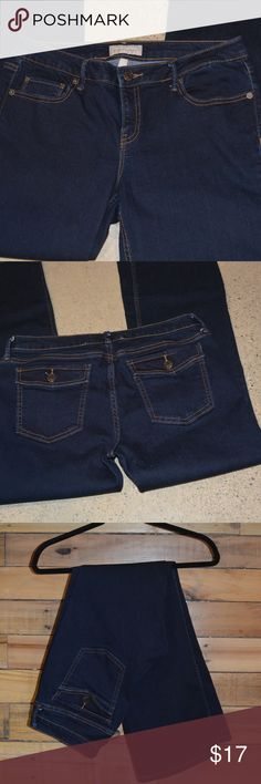 """Banana Republic Jeans Like new Banana Republic dark jeans.  Size = 10/30 (short).  28"""" inseam (this is a re-posting of an earlier listing with better photos!). Banana Republic Jeans"""
