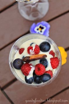 Eat Your Heart Out: Recipe: Summer fruits, vanilla custard and Jaffa cakes
