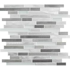 MS International Arctic Storm Interlocking 12 in. x 12 in. x 10 mm Honed Marble Mesh-Mounted Mosaic Tile sq. / case)-SMOT-AS-ILH - The Home Depot Honed Marble, Marble Mosaic, Mosaic Wall, Carrara, Stone Mosaic Tile, Mosaic Tiles, Tiling, Slate Wall Tiles, Ikea