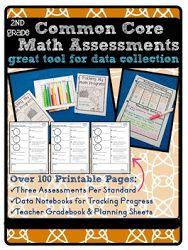 2nd Grade Common Core Math Assessment