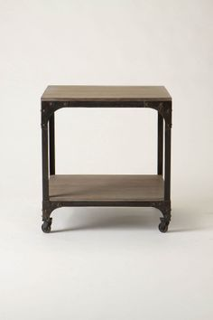 anthro 'decker' end table.