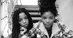 """Chloe and Halle Instagram 
