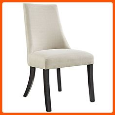 Modway Reverie Dining Side Chair in Beige, Beige - Improve your home (*Amazon Partner-Link)