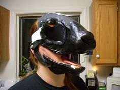 Resin Oryx Mask, WIP 2 by Pycoshocker on DeviantArt
