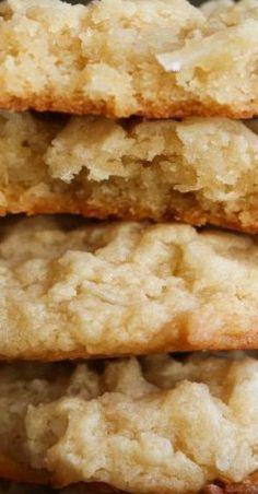 Perfect Cookie Recipes – 20 Baking Tips To Make The Best Cookies Ever - New ideas Keto Cookies, Cookies Receta, Coconut Cookies, Cookies Et Biscuits, Yummy Cookies, Coconut Cookie Recipe, Keto Biscuits, Desserts Keto, Cookie Desserts