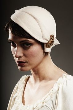Vintage wedding hats...