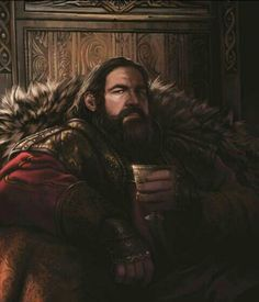 ~King Robert Baratheon the First of His Name by Magali Villeneuve~