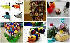 Ideas que mejoran tu vida Tapas, Reuse Recycle, Recycling, Ideas Geniales, Recycled Crafts, Earth Day, Art Activities, Repurposed, Diy