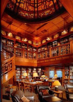 Stunning Home Library Design Ideas : 13 Cozy Home Library Design Ideas Interior
