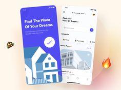 Design Case, Ui Ux Design, Design Agency, Branding Design, Looking For Apartments, Directory Design, Delivery App, App Design Inspiration, Types Of Buttons