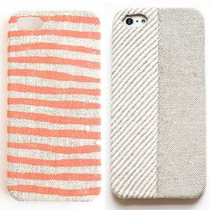 Soft Tech-xtiles: Fabric Phone Cases With Hand-Painted Prints