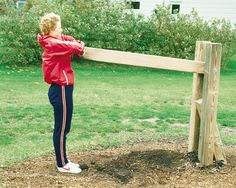 Log lift--Fitness Trail & Obstacle Courses - SugarIsland Commercial Playgrounds