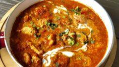 Ziołowy kurczak w sosie jogurtowym - Blog z apetytem Asian Recipes, Healthy Recipes, Ethnic Recipes, Tikki Masala, Cookery Books, Tasty Dishes, Food Inspiration, Main Dishes, Dinner Recipes