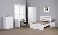 Venus Bedroom Suite & Furniture Available from Beds N Dreams Australia