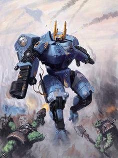 Photo of Tau Empire for fans of Warhammer 35817183 Warhammer Fantasy, Warhammer 40k Art, Kraken, Tau Battlesuit, Tau Army, Character Art, Character Design, Tau Empire, Science Fiction Art