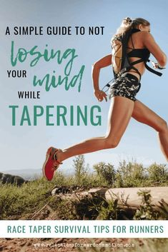 Coach Heather's Guide to Not Losing Your Mind while Tapering: 5 Race Taper Survival Tips for Runners Accessories Half Marathon Training Plan, Marathon Running, Running For Beginners, Running Tips, Trail Running, Marathon Taper, Runner Problems, Running Humor, Running Motivation