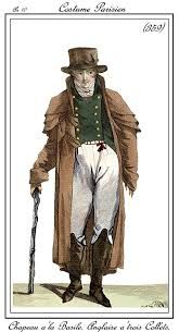 CARRICK. Abrigo muy empleado en Francia y Alemania, de origen ingles. Especie de gabán muy holgado con una o varias esclavinas.