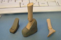 How to make doll shoes out of sculpting clay