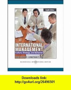 International Management Culture, Strategy and Behavior (9780071086578) Fred Luthans , ISBN-10: 0071086579  , ISBN-13: 978-0071086578 ,  , tutorials , pdf , ebook , torrent , downloads , rapidshare , filesonic , hotfile , megaupload , fileserve