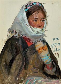 1977 Ai Xuan (艾軒; b1947, Jinhua, Zhejiang Province, China)