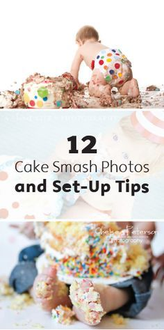 The classic cake-smash photo is an absolute must on your little one's big day. For some cute inspiration to capture this big moment, take a look at these 12 adorable pictures and at the tips and tricks to help you set it up.