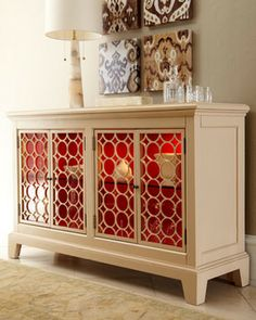 Ecliptic Two-Door Console - traditional - buffets and sideboards - Horchow
