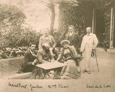 Marcel Proust, Ganderay, madame Strauss, Louis de La Salle Photographie Paris, BnF, département Littérature et Arts D242 800