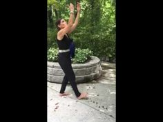 Scoop water from the sea look up at they sky Qi gong exercise number 11