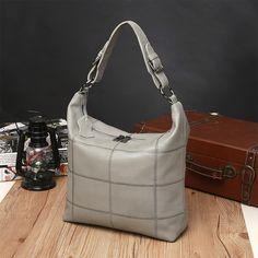 745eeea82cd Genuine Leather Handbags Evening Clutch Office Ladies Hobos Bag Totes Color  Daily Bag Cowhide Leather Waterproof
