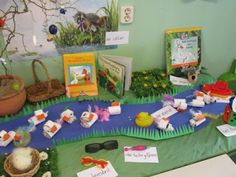 Frog Theme, Pond Life, Class Decoration, Spring Theme, School Themes, Toddler Fun, Dramatic Play, Reading Room, Marie
