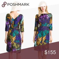 Milly NY Delaney Silk Dress S M 8 Milly NY Delaney Silk Dress S M labeled size 8 fits like a 6 Milly Dresses