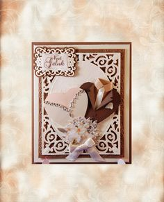card with Nestabilities A2 Card Creator Filigree Delight