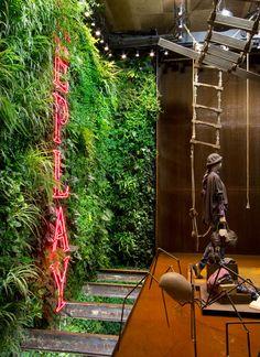 Vertical Garden Installation, Replay Barcelona