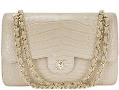 c2bc3ac8a05c Chanel Handbags, Burberry Handbags, Chanel Classic Flap, Crocodile, Chanel  Bags, Chanel