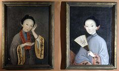 chinese export portraits