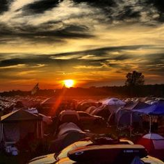 sunset at roo