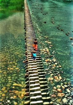 This is Piano Bridge in China.
