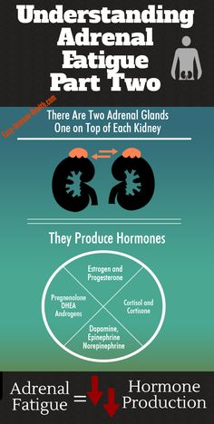 Understanding adrenal fatigue part 2. Hormone production:  http://www.easy-immune-health.com/adrenal-gland-fatigue.html