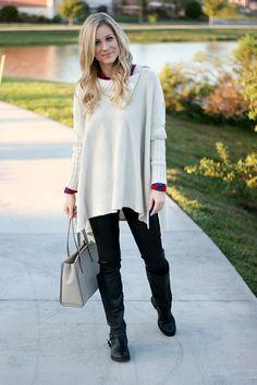 Poncho Sweater | A Daydream Love