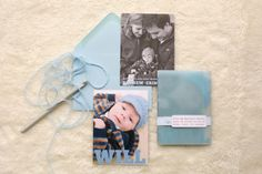 Hospital Bracelet Baby Announcement by Sarah Jane Winter via Oh So Beautiful Paper (4)