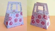 How to Make DIY Small Paper Gift Bag | Handmade Decorative DIY Paper Purse