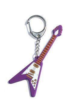 "My Music Gifts ""Guitarra eléctrica V"" llavero de PVC"