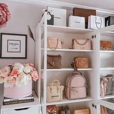 Belinda Selene (@belindaselene) • Instagram photos and videos Prada Marfa, Makeup Rooms, Dress Making, Neutral, Sweet Home, Handbags, Three Days, Decluttering, Dressing