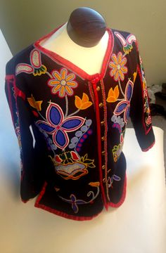 Traditions, Change & Celebration: Native Artists of the Southeast. Roger Amerman's beautifully beaded Choctaw Frontier Jacket. Mckissick Museum 816 Bull St, Columbia, SC 29208