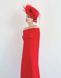 In the Mood for Red Lips - Photo by Tim Walker, styled by Edward Enninful