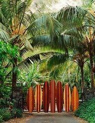 The entrance to my Hawaiian beach house :p
