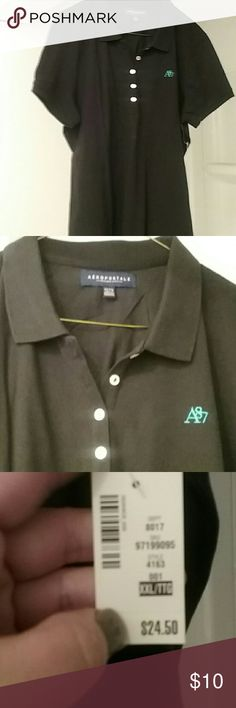 Woman's Aeropostle polo shirt BNWT just too small Aeropostale Tops Blouses