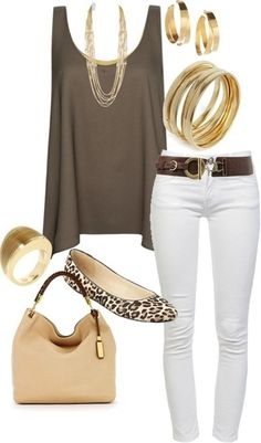 Neutrals with a Touch of Gold